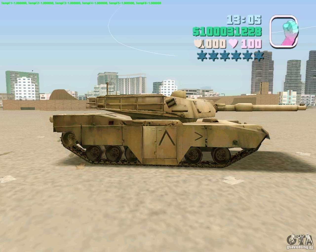 M 1 A2 Abrams For Gta San Andreas