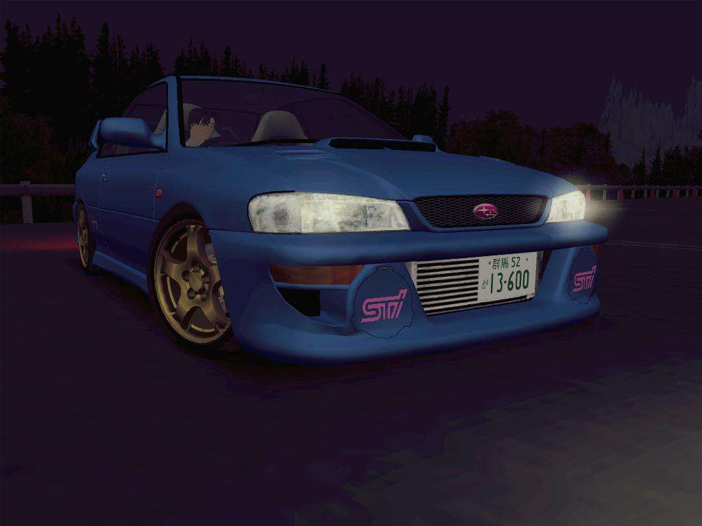 Subaru Impreza WRX GC8 InitialD For GTA San Andreas