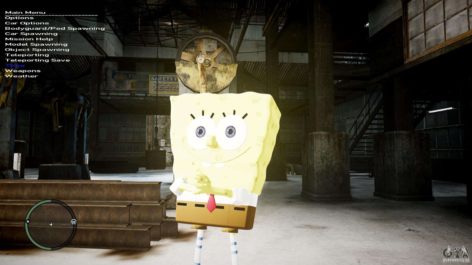 Spongebob for GTA 4