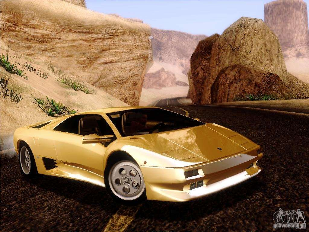 lamborghini diablo vt 1995 v3 0 for gta san andreas. Black Bedroom Furniture Sets. Home Design Ideas