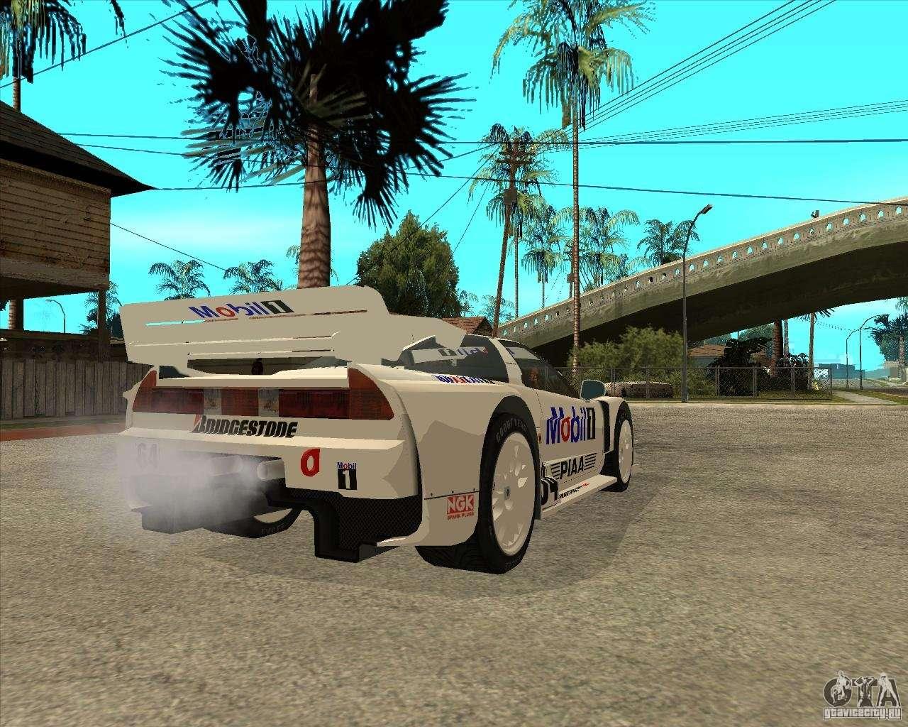 Mobil 1 Nsx: 2001 Honda Mobil 1 NSX JGTC For GTA San Andreas