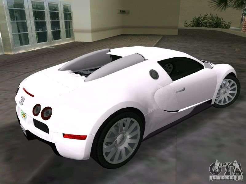 bugatti veyron eb 16 4 for gta vice city. Black Bedroom Furniture Sets. Home Design Ideas