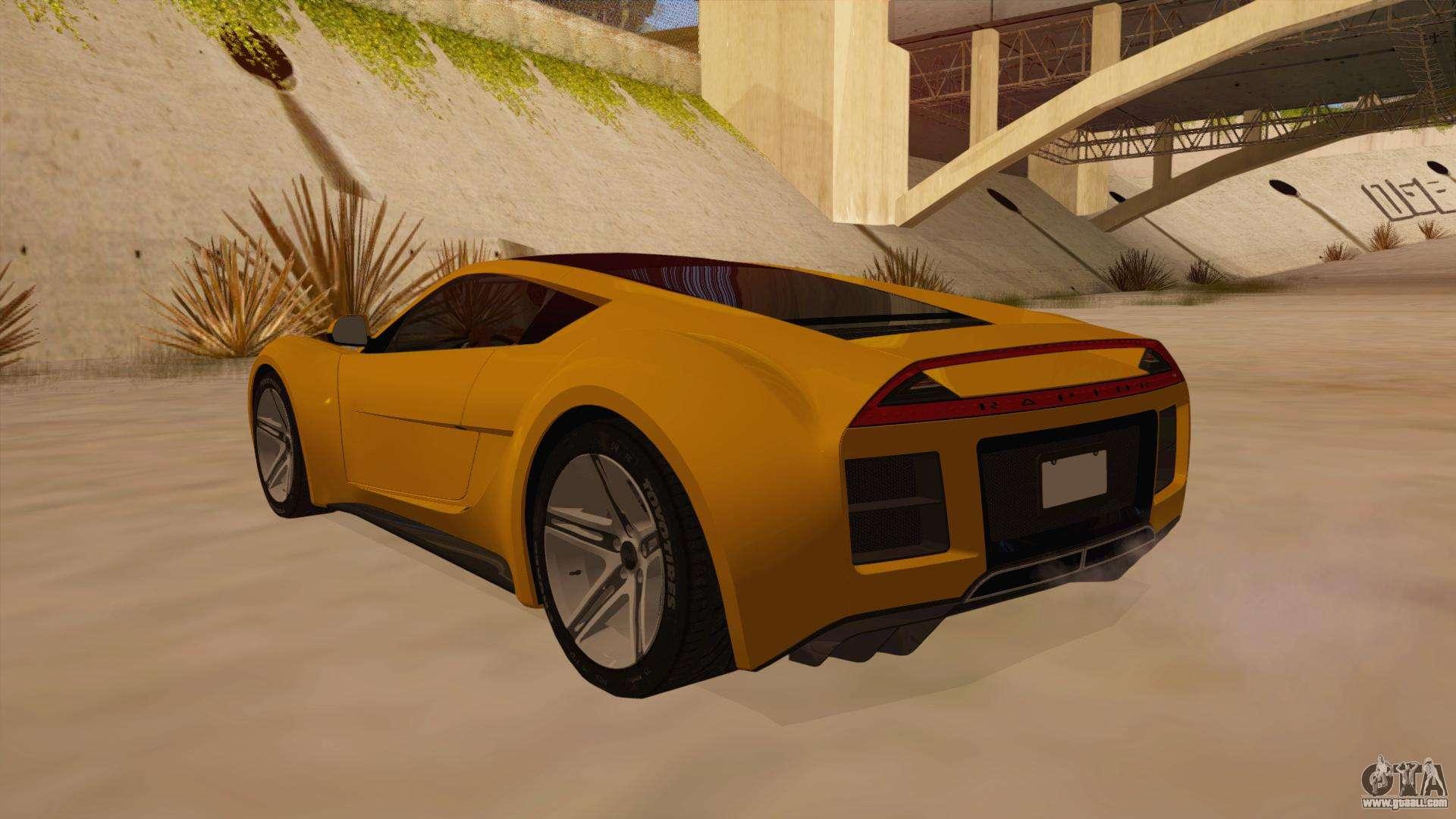 Saleen S5s Raptor 2010 For Gta