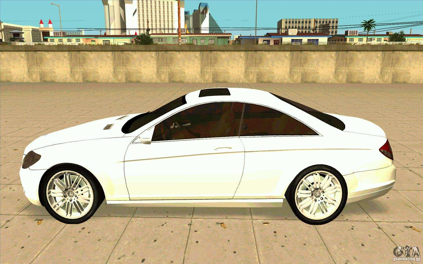 mercedes benz cl 500 for gta san andreas. Black Bedroom Furniture Sets. Home Design Ideas