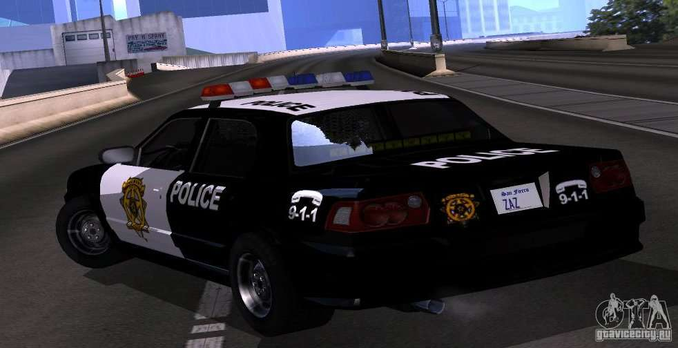 NFS Undercover Police Car for GTA San Andreas