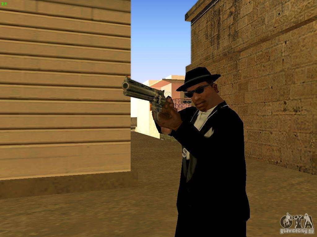 44 Magnum For Gta San Andreas