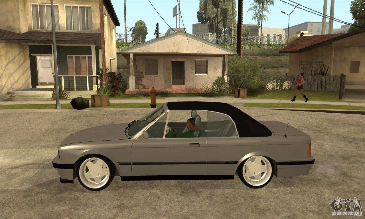 bmw e30 325i cabrio 1989 for gta san andreas. Black Bedroom Furniture Sets. Home Design Ideas