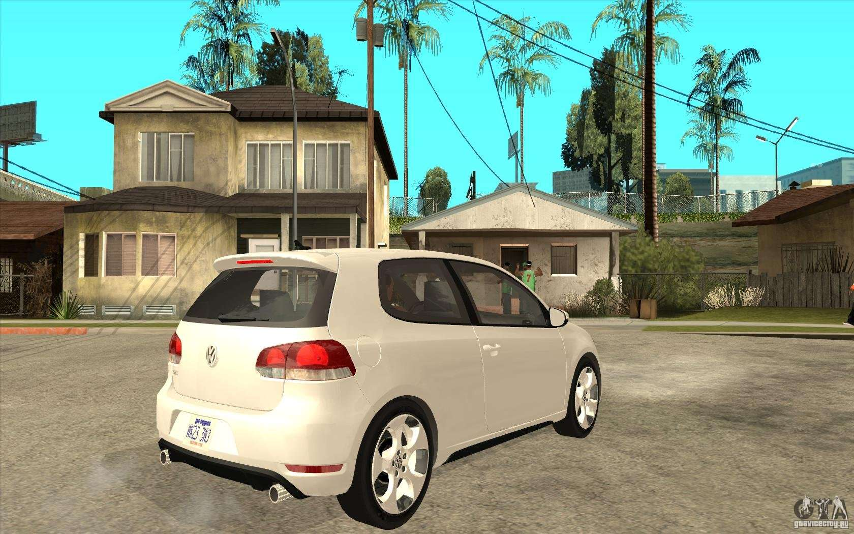 Gta Sa on Vw Golf Gti Mk1