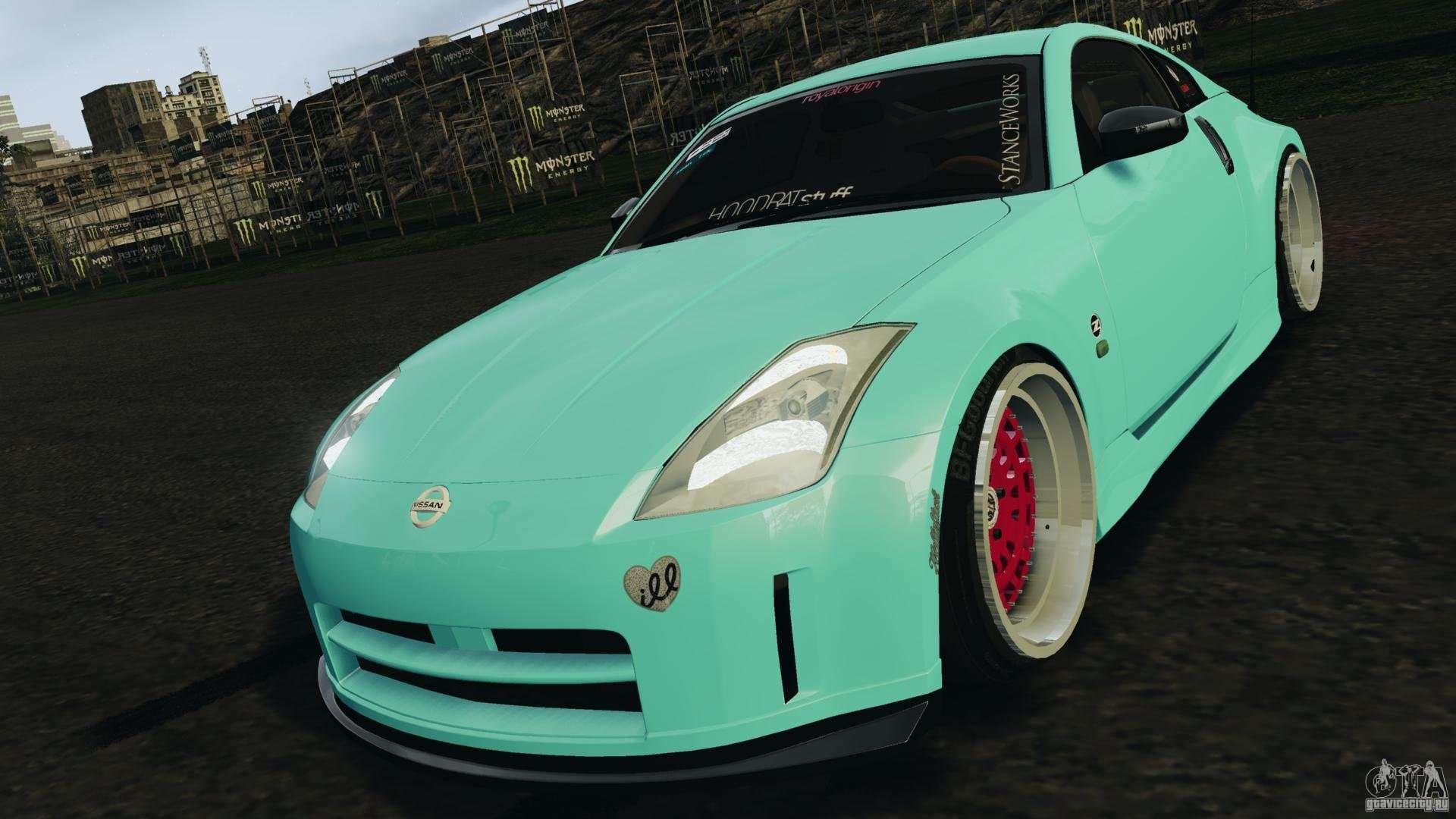 "2003 Tuned Nissan 350Z ""Minty Z"". | JapaneseSportCars.com"