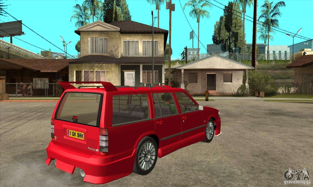 Volvo 945 Wentworth R With Bodykit 1 2 For Gta San Andreas