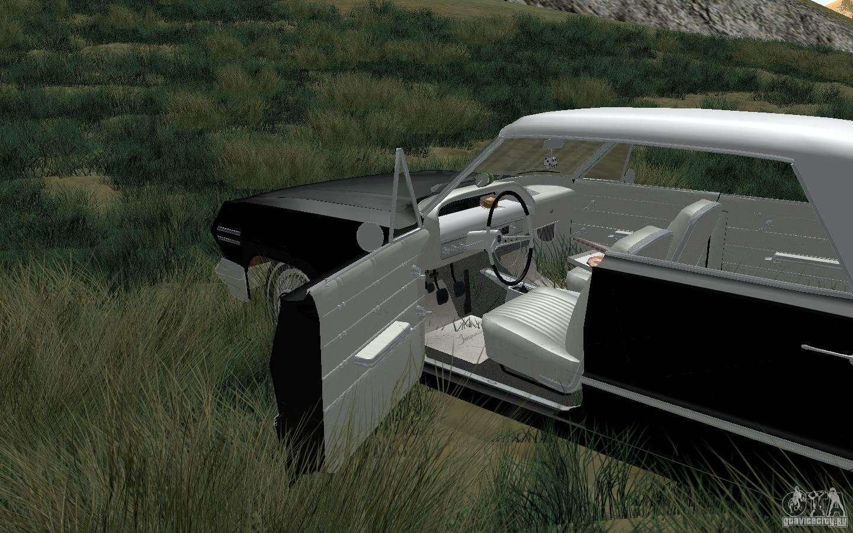 Chevrolet impala 4 door hardtop 1963 for gta san andreas - Chevrolet Impala 4 Door Hardtop 1963 For Gta San Andreas Back Left View