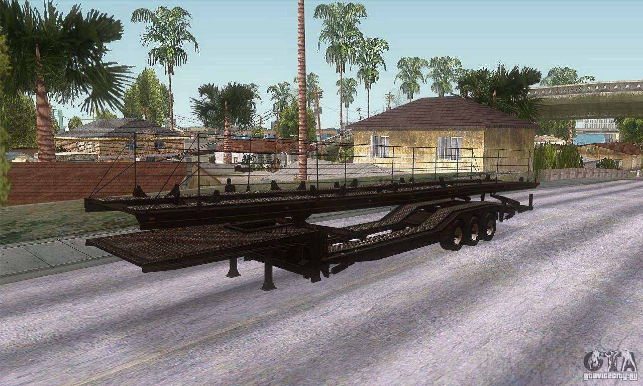 the trailer truck for gta san andreas. Black Bedroom Furniture Sets. Home Design Ideas