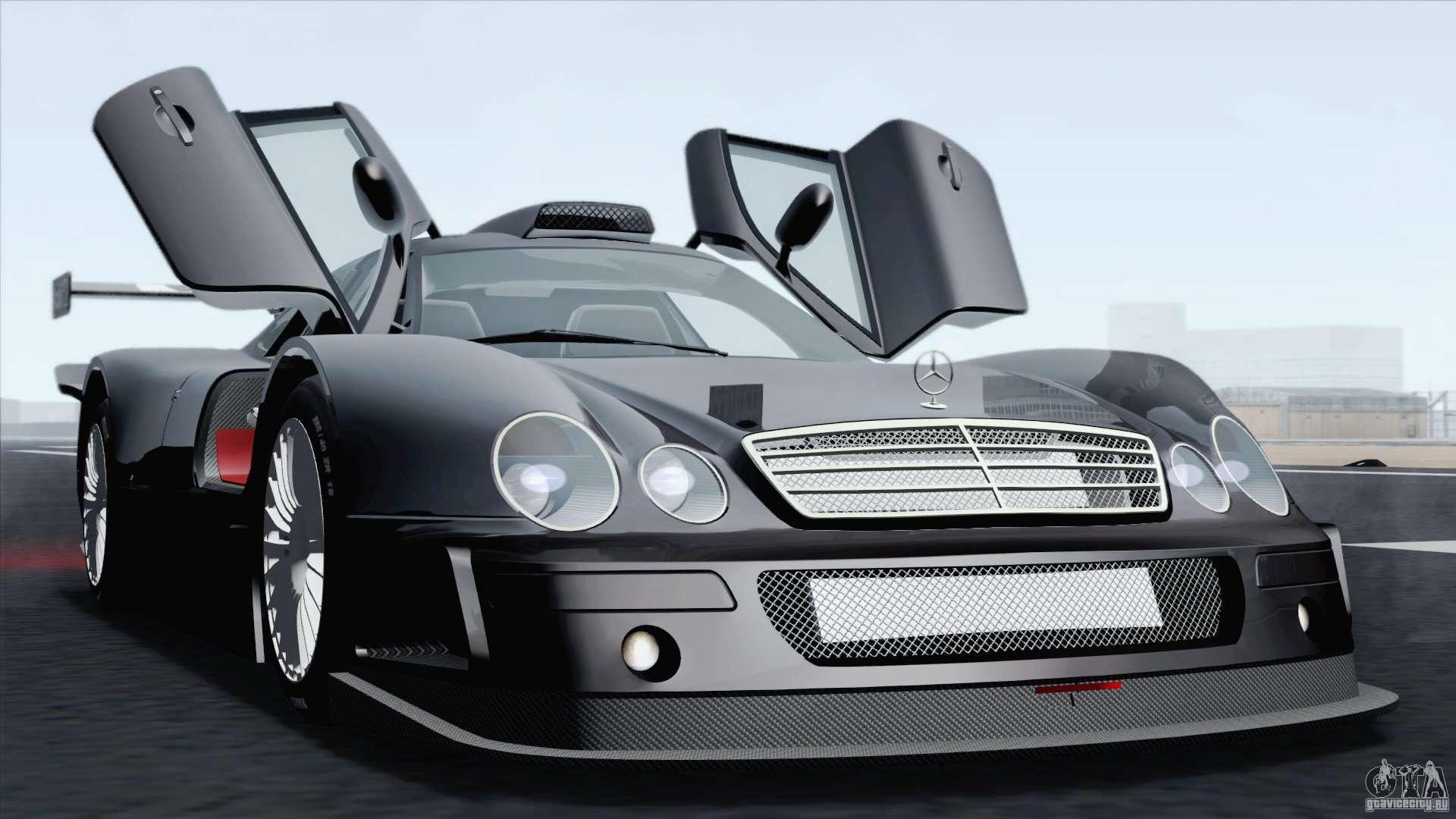 Mercedes Benz Clk Gtr Race Car For Gta San Andreas