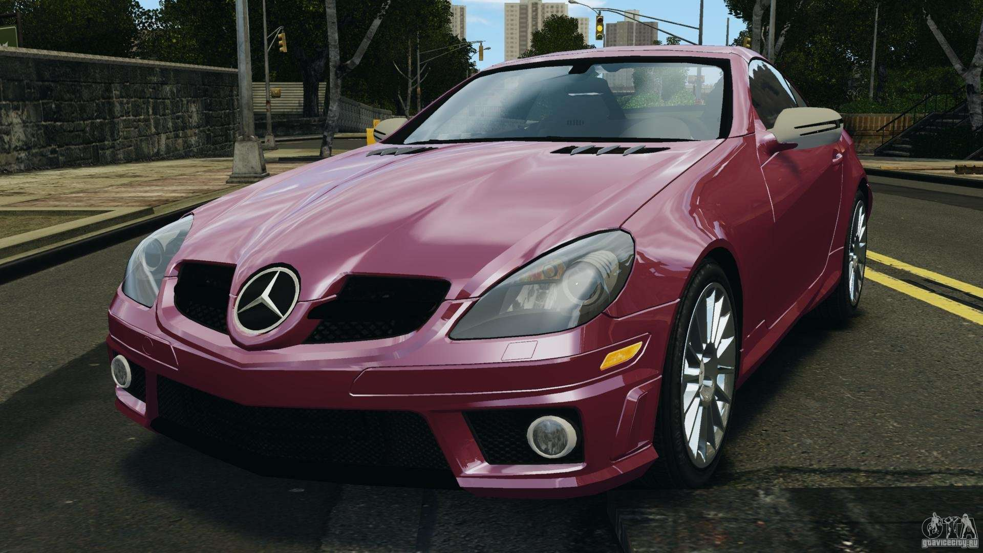 Mercedes benz slk 55 amg 2010 for gta 4 for 2010 mercedes benz slk