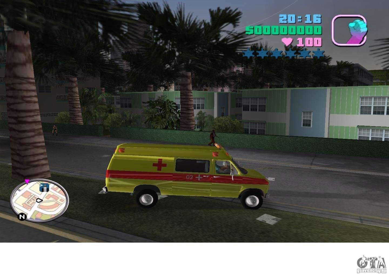 Ford econoline e350 ambulance for gta vice city
