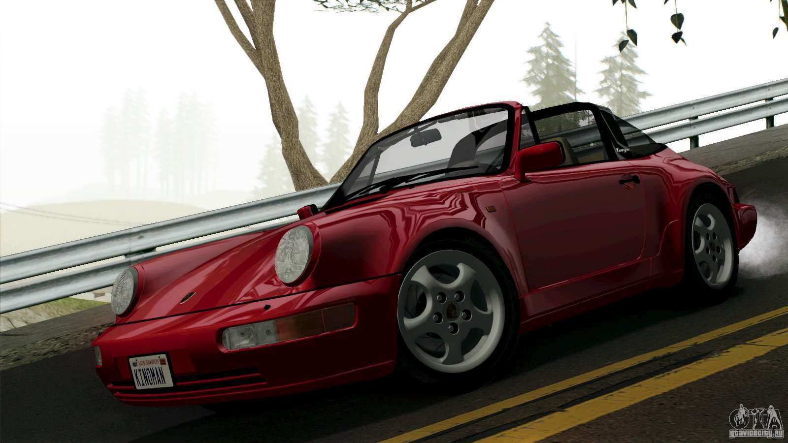 Porsche 911 carrera 4 targa 964 1989 for gta san andreas publicscrutiny Choice Image
