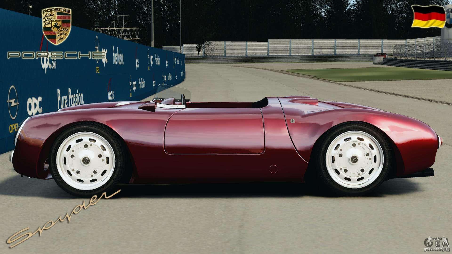 Porsche 550 A Spyder 1956 V1 0 For Gta 4