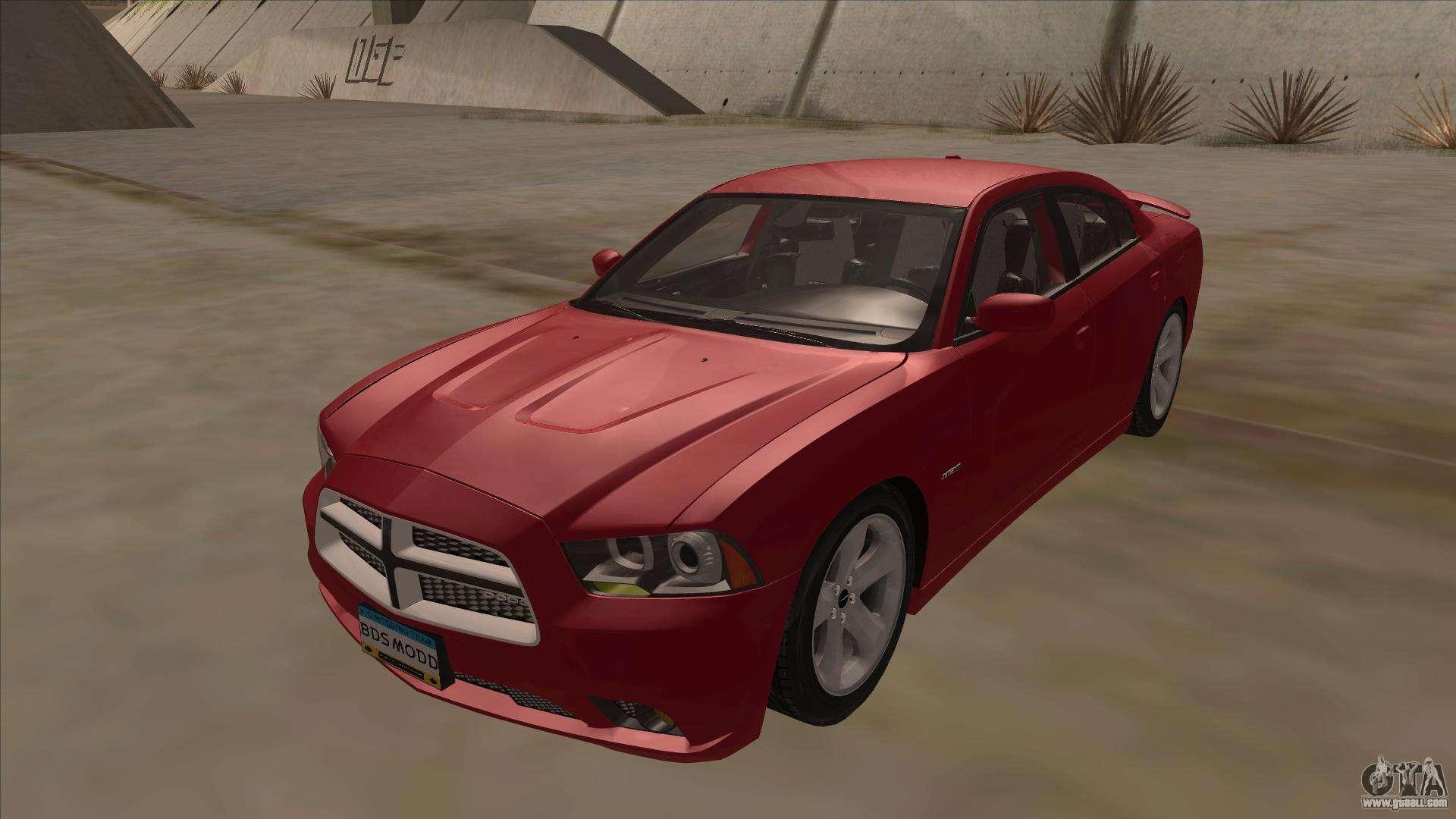 Dodge Charger Rt 2011 V1 0 For Gta San Andreas