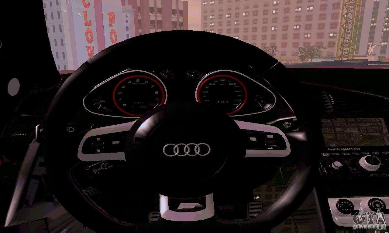 Audi r8 v10 spyder 5 2 fsi for gta san andreas