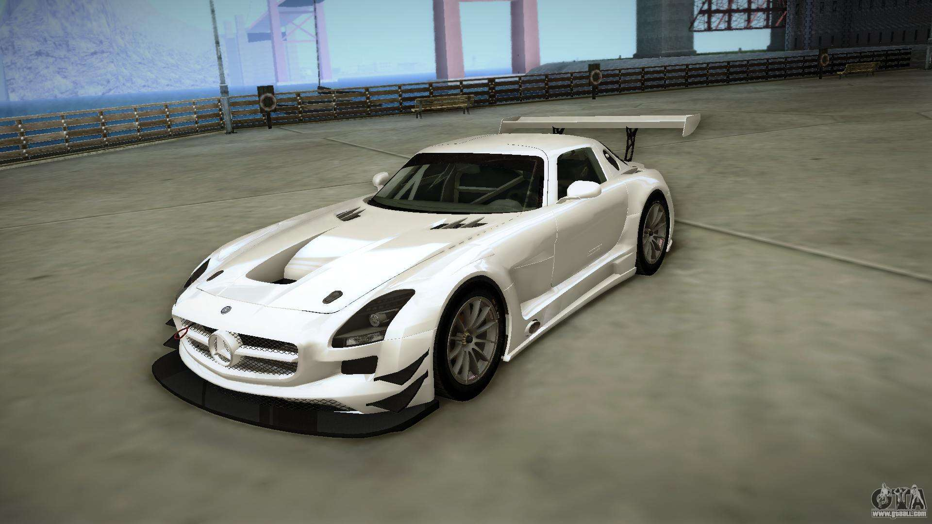 mercedes benz sls amg gt3 for gta san andreas. Black Bedroom Furniture Sets. Home Design Ideas