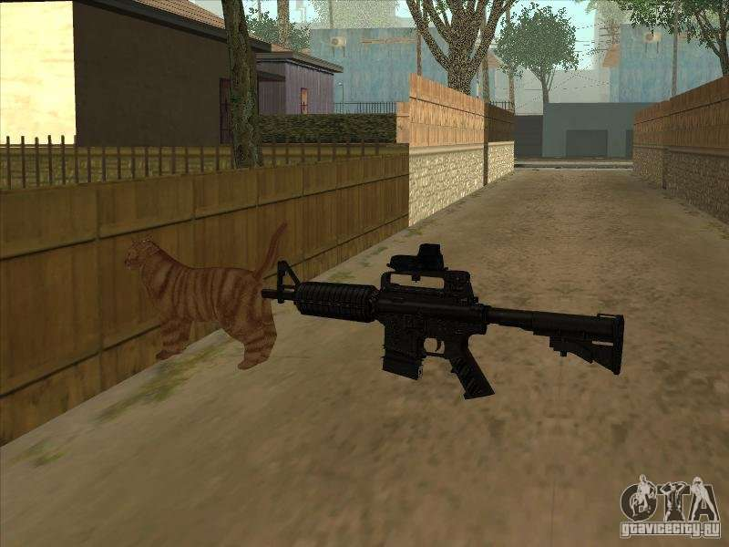 Cat Silencer On The M4 Instead For Gta San Andreas