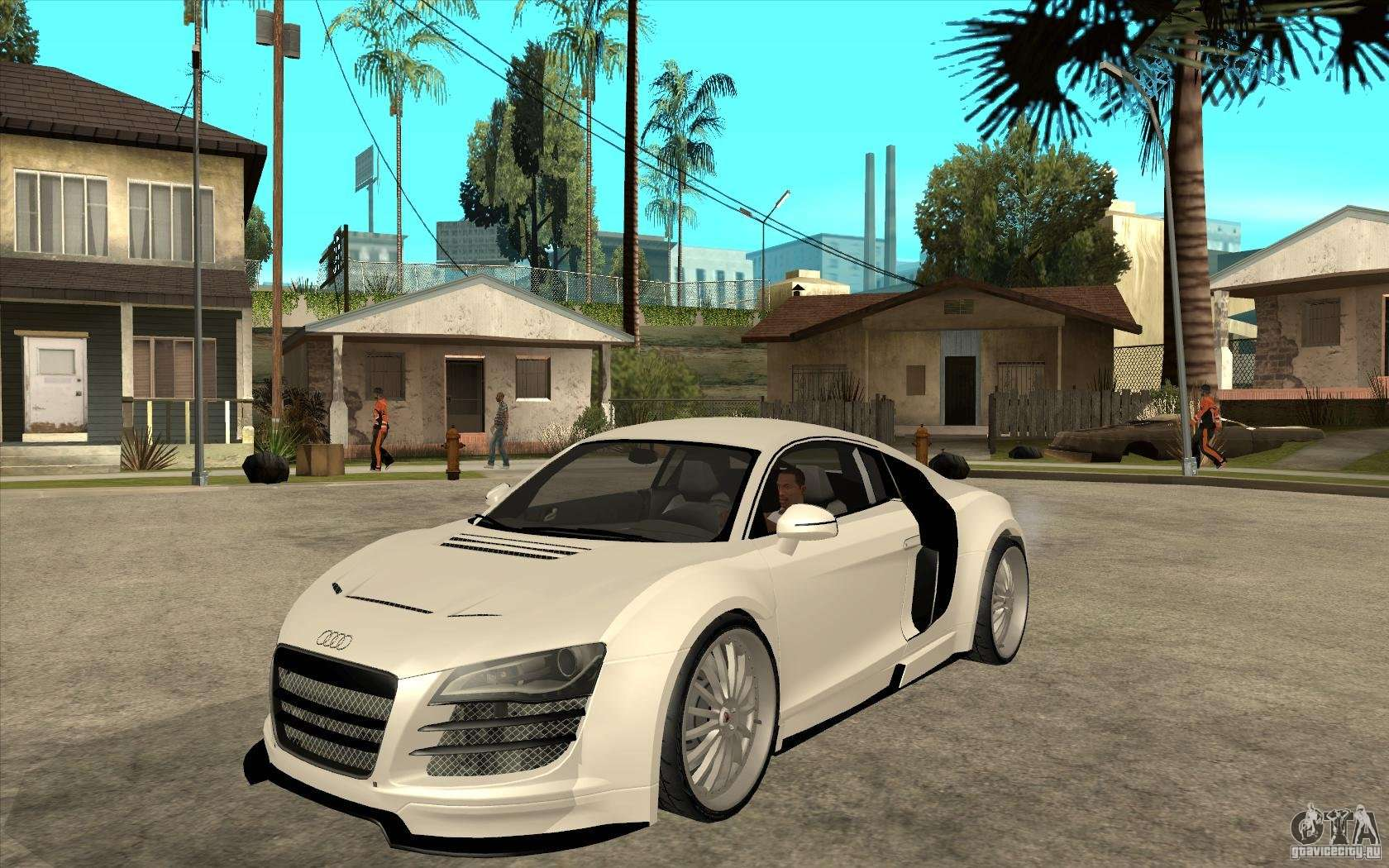 audi r8 5 2 fsi custom for gta san andreas. Black Bedroom Furniture Sets. Home Design Ideas