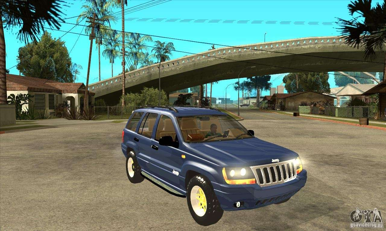 Jeep Grand Cherokee 2005 For Gta San Andreas