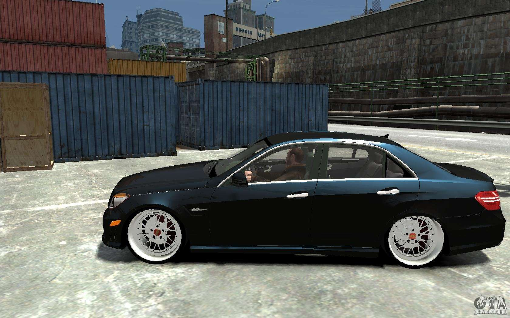 Mercedes benz e36 amg 2010 for gta 4 for Mercedes benz gta