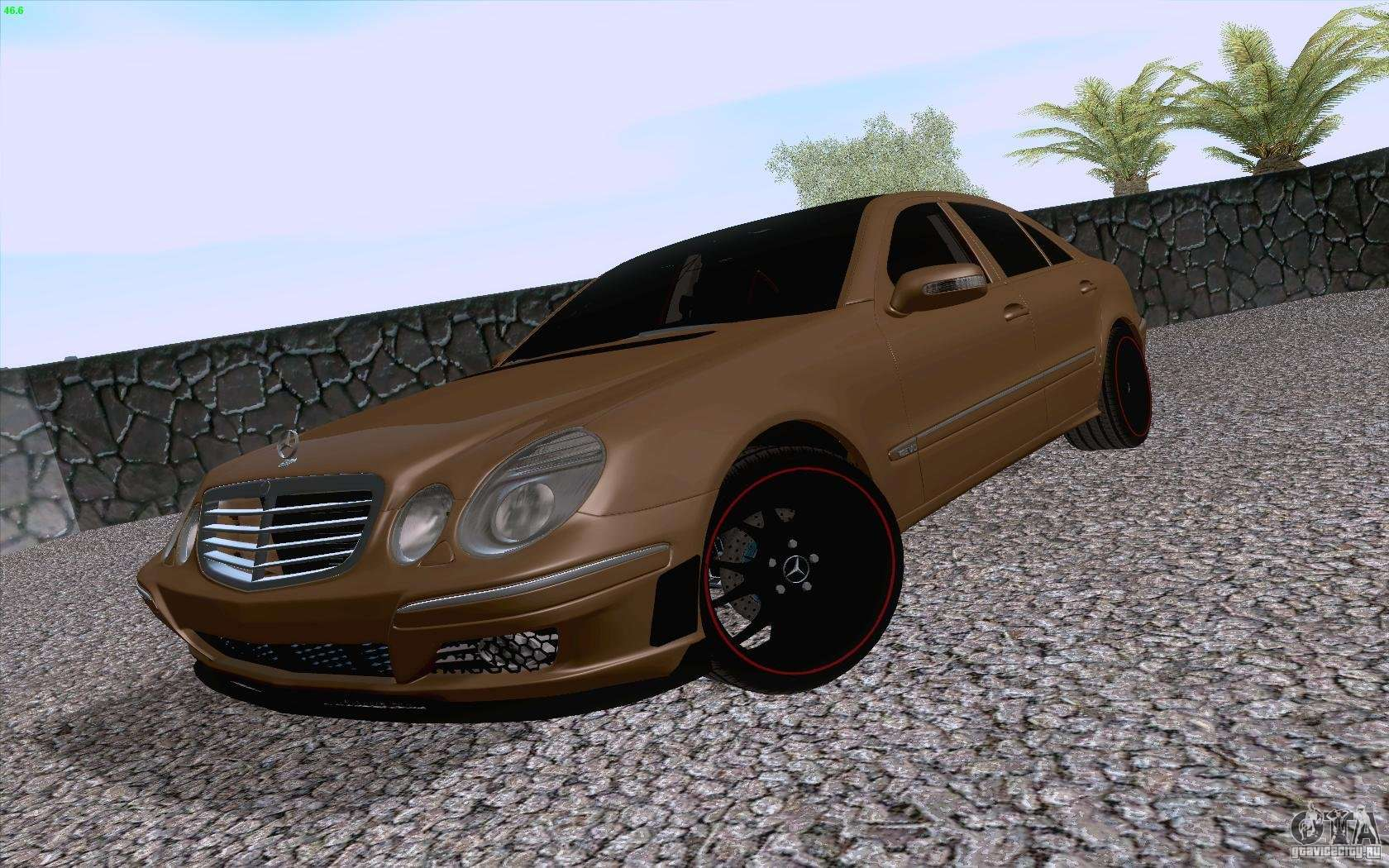 mercedes benz e55 amg for gta san andreas. Black Bedroom Furniture Sets. Home Design Ideas