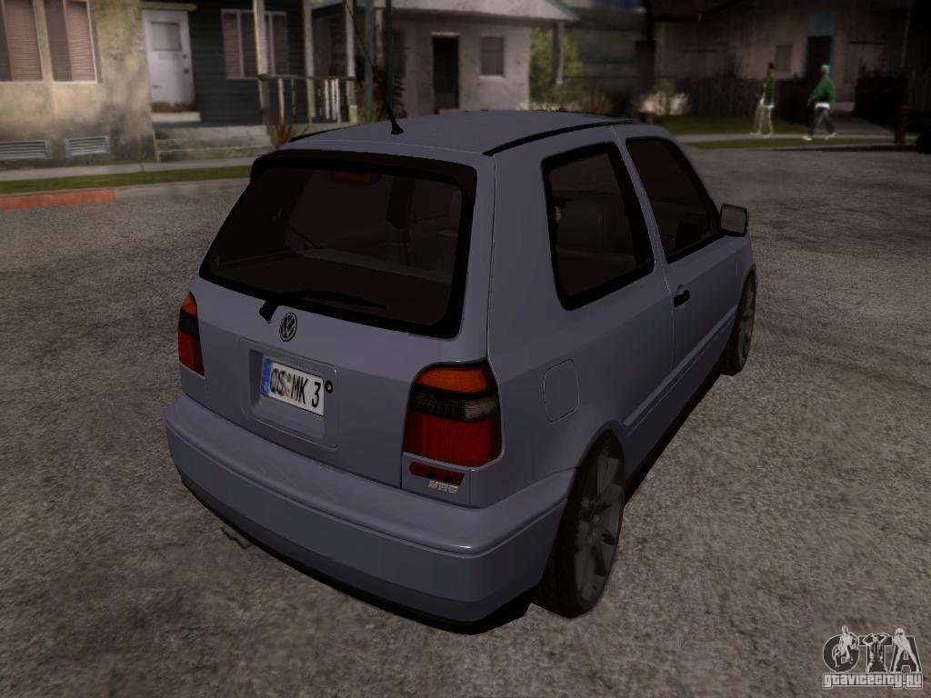 volkswagen golf 3 vr6 for gta san andreas. Black Bedroom Furniture Sets. Home Design Ideas