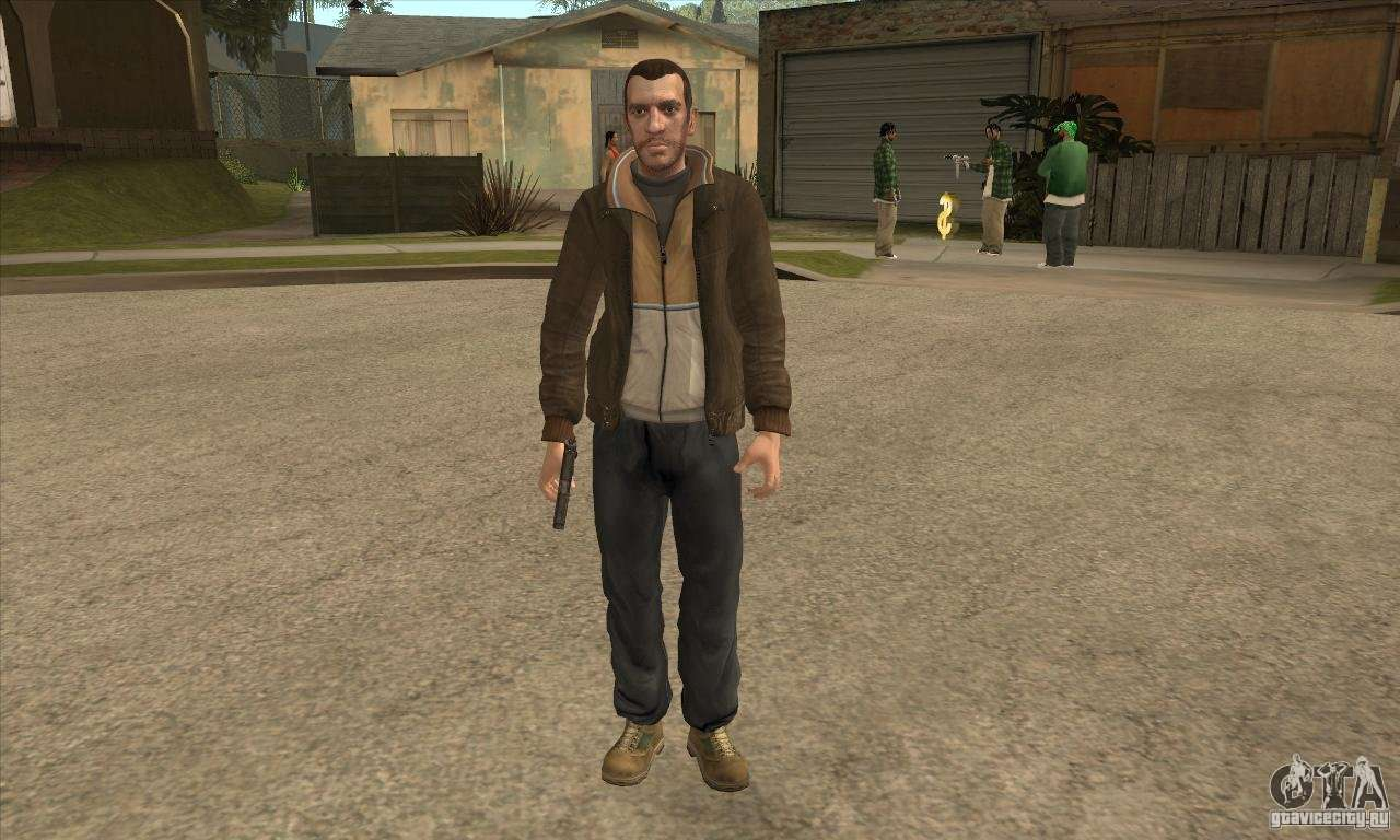 skin do niko bellic para gta 3