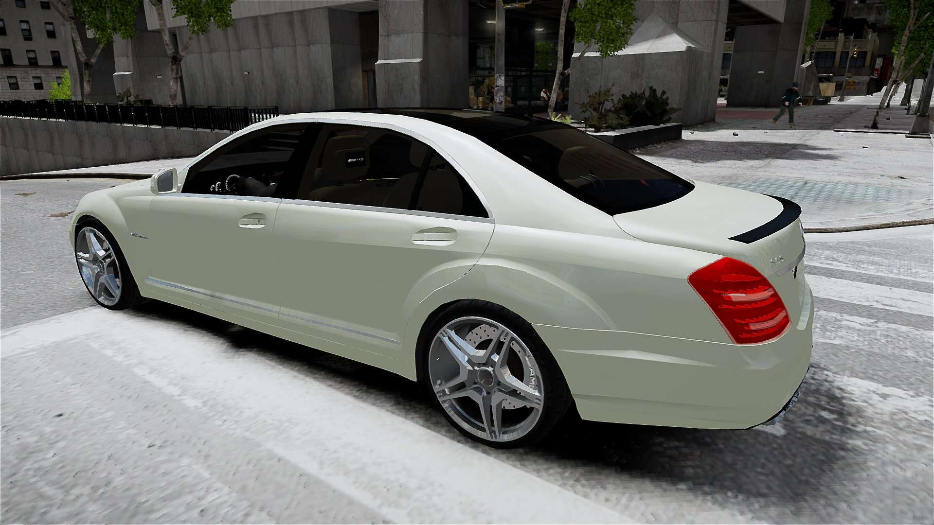mercedes benz s65 amg long 2010 for gta 4