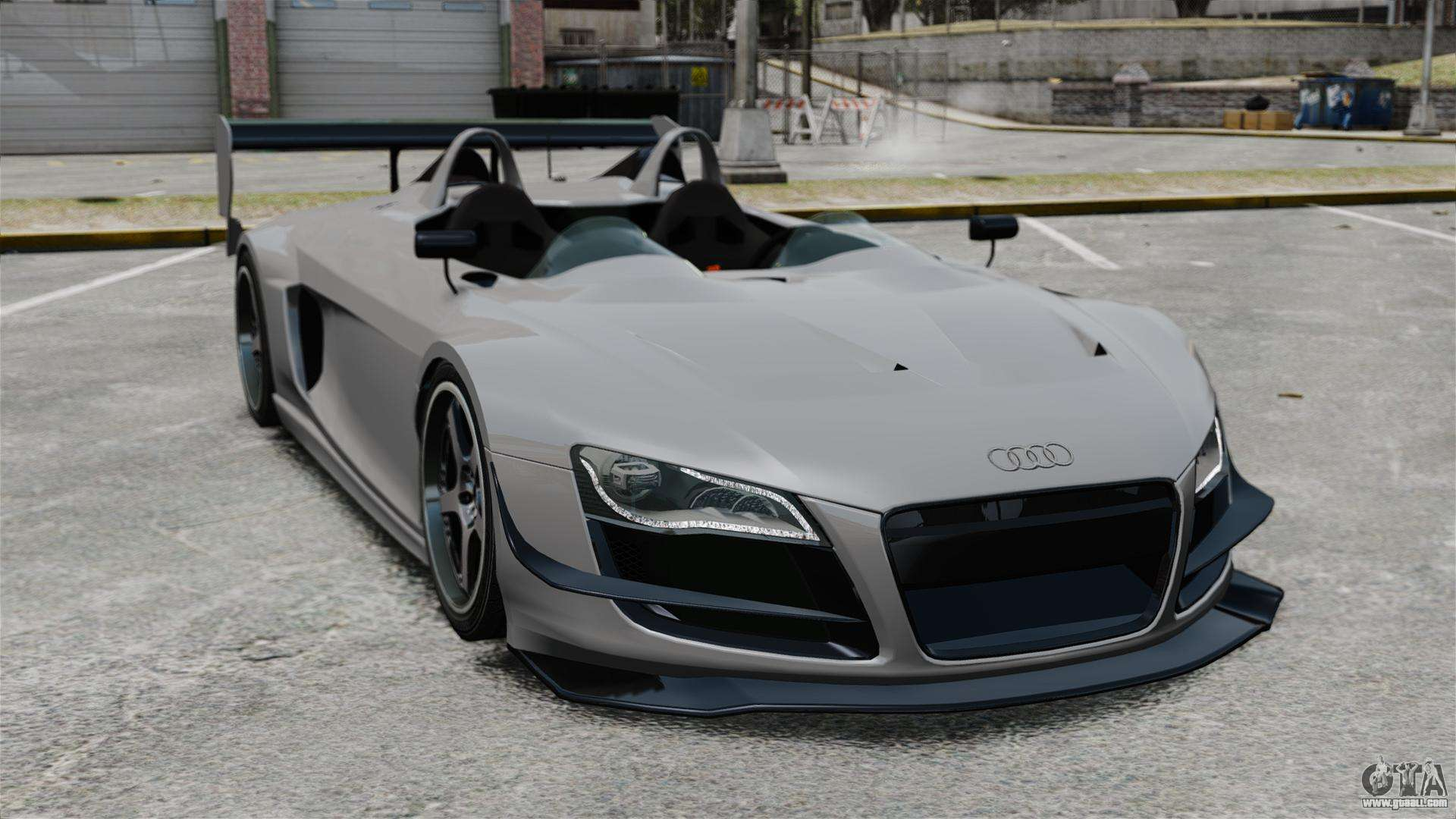Audi r8 spider body kit final for gta 4