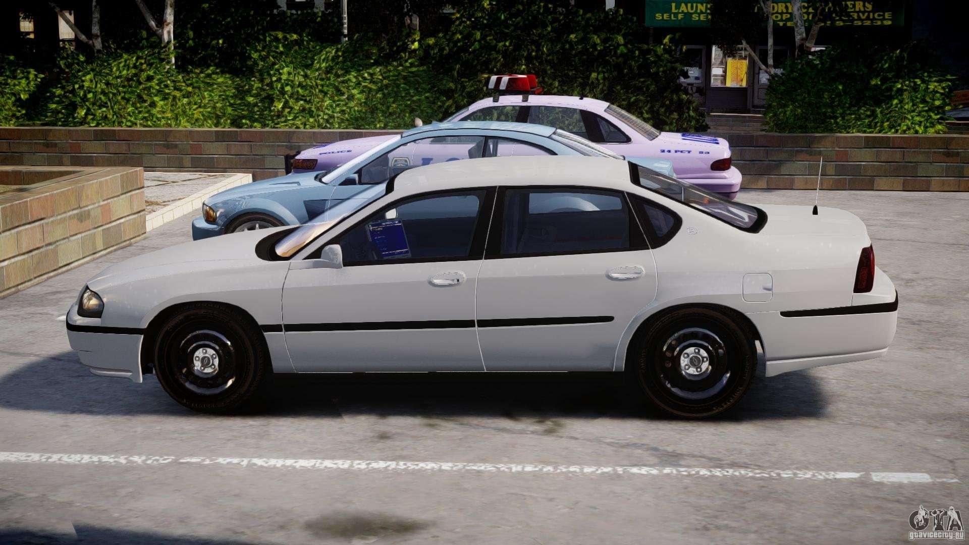 Chevrolet Impala Unmarked Police 2003 V1 0 Els For Gta 4
