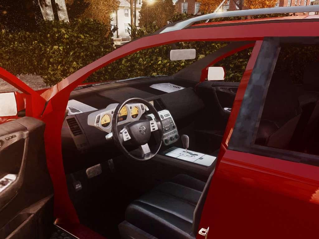 Nissan Murano Ti Z50 For Gta 4