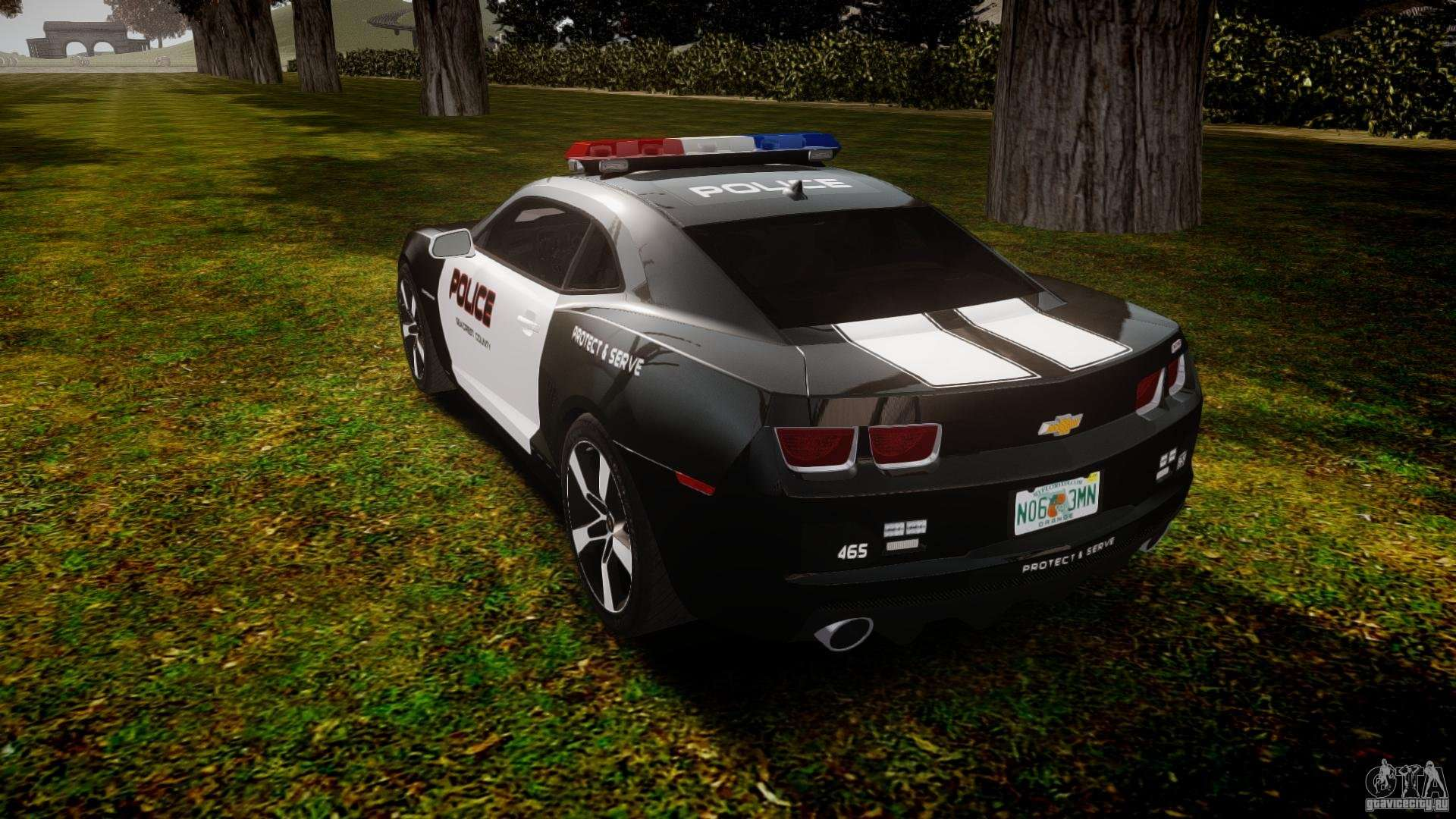 Chevrolet Camaro Police Beta For Gta 4