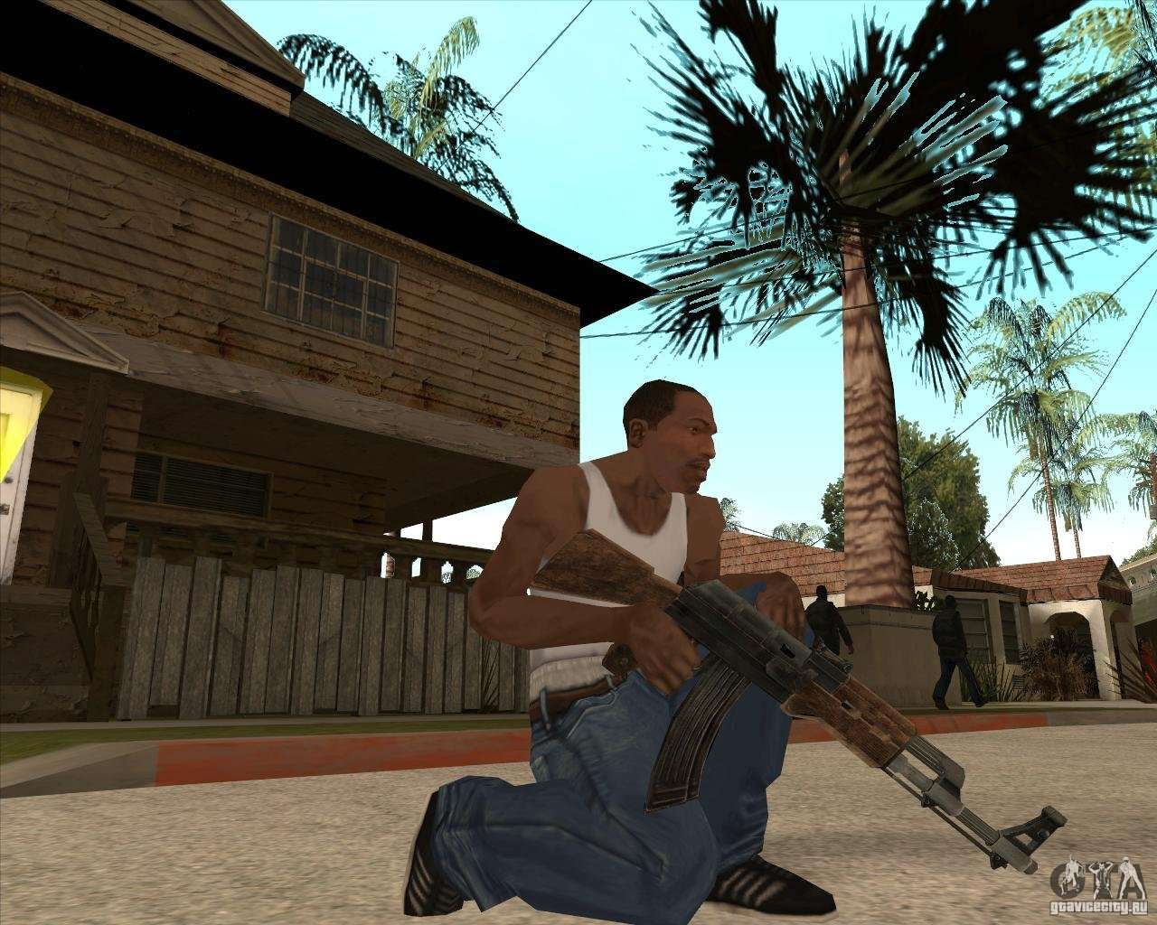 CoD:MW2 weapon pack for GTA San Andreas
