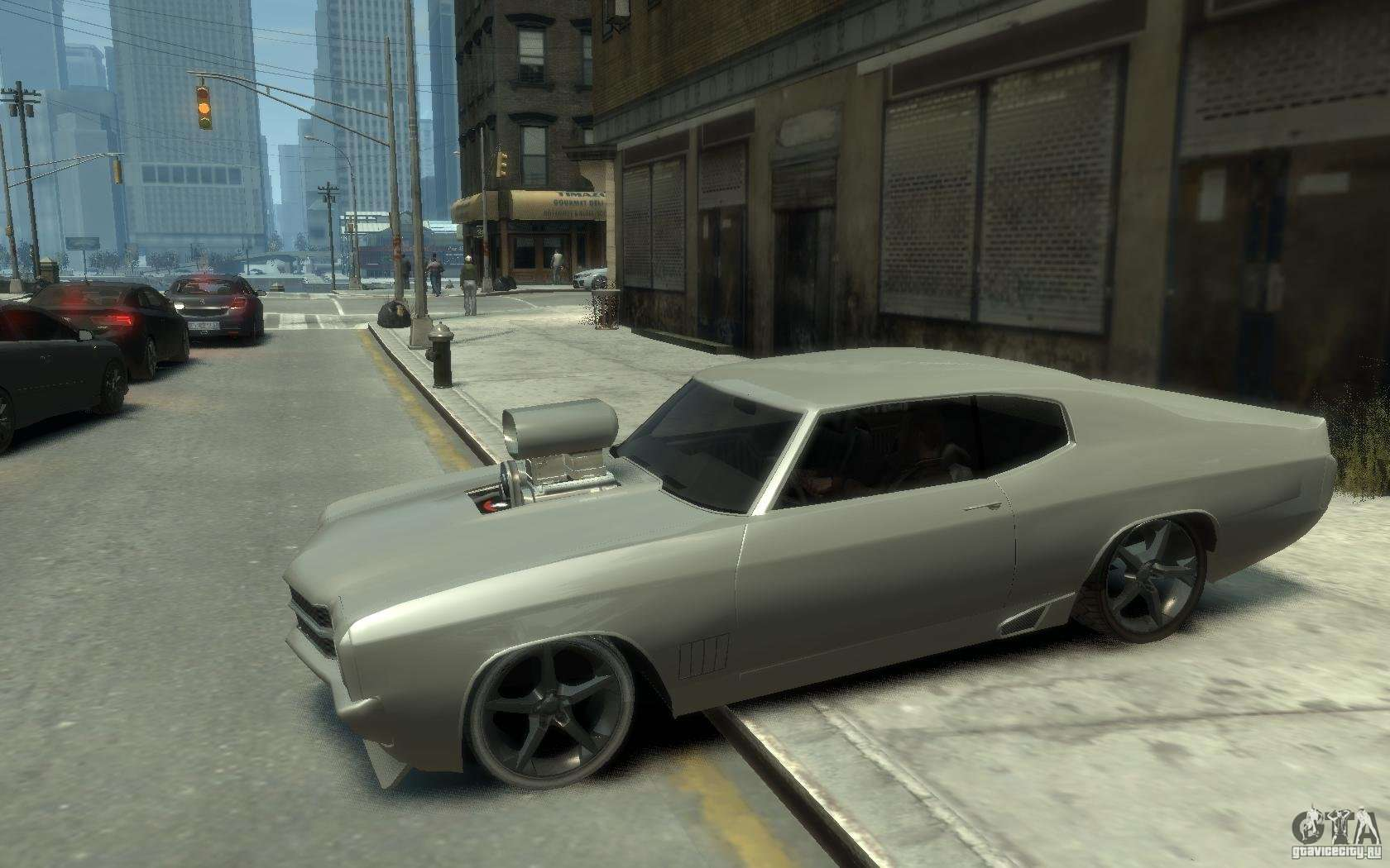 Chevrolet Chevelle Ss Tuning 1970 For Gta 4