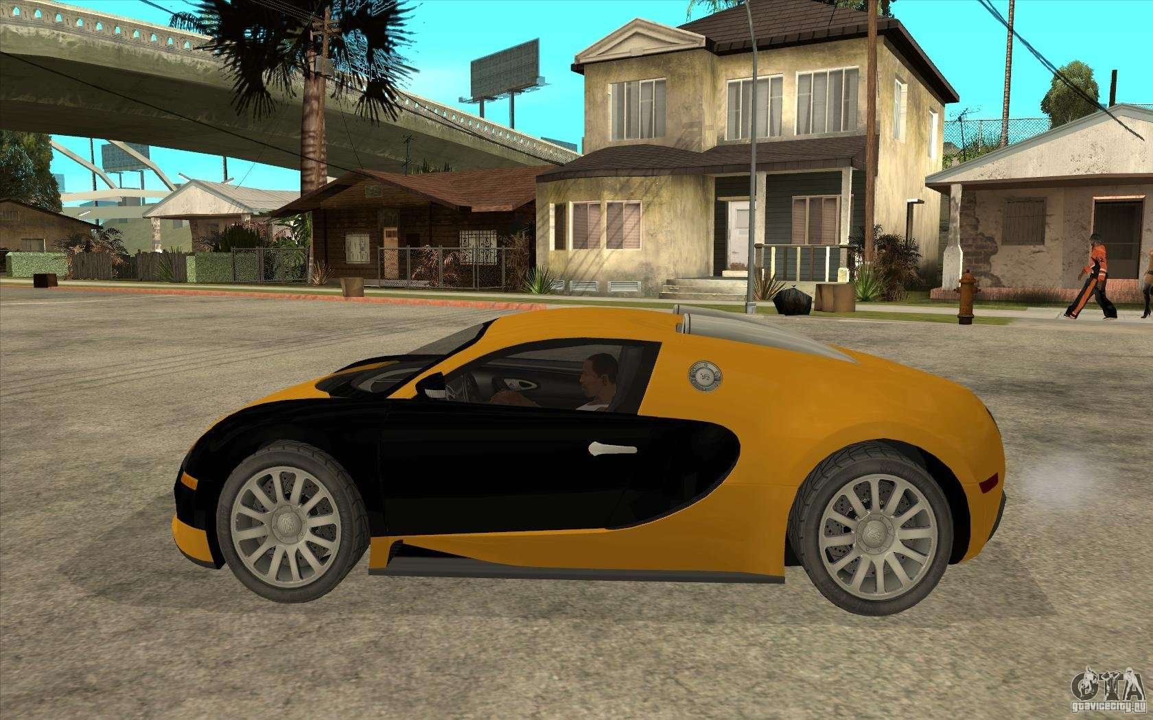 bugatti veyron v1 0 for gta san andreas. Black Bedroom Furniture Sets. Home Design Ideas