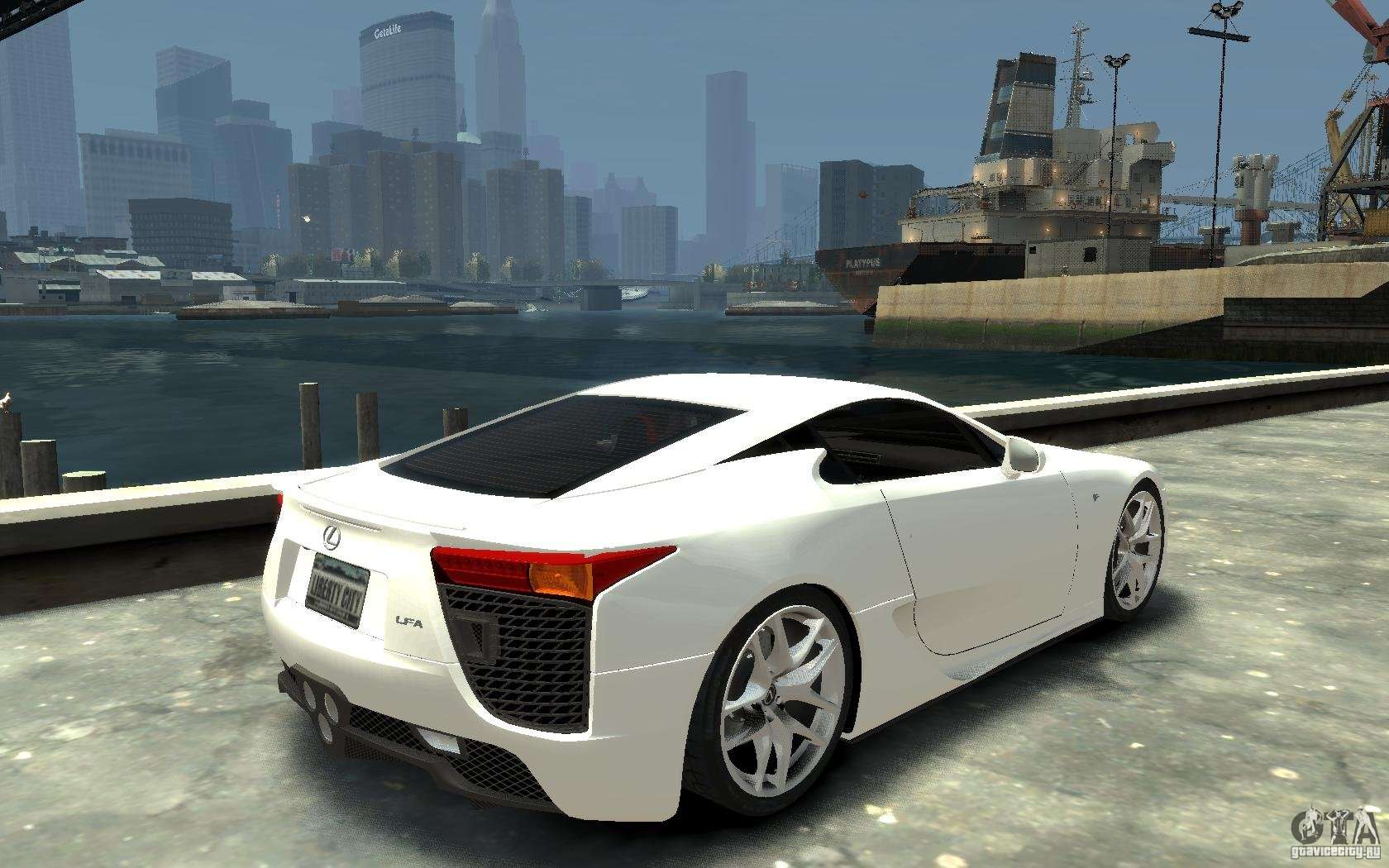lexus lfa v1 0 for gta 4. Black Bedroom Furniture Sets. Home Design Ideas