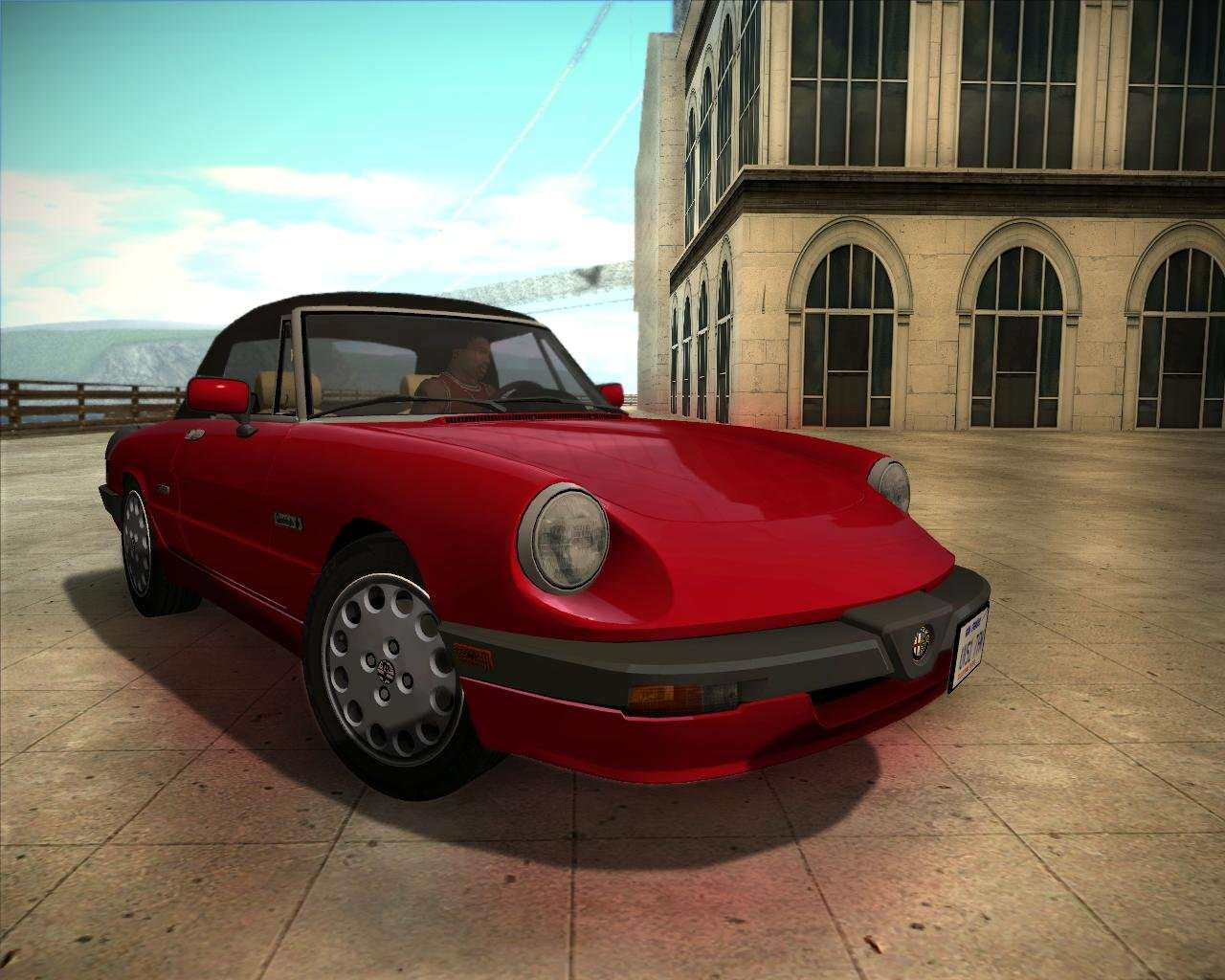 alfa romeo spider 115 1986 for gta san andreas. Black Bedroom Furniture Sets. Home Design Ideas