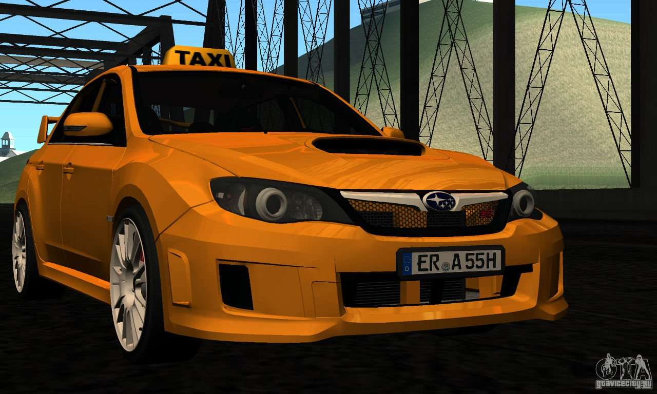 subaru impreza wrx sti 2011 taxi for gta san andreas. Black Bedroom Furniture Sets. Home Design Ideas