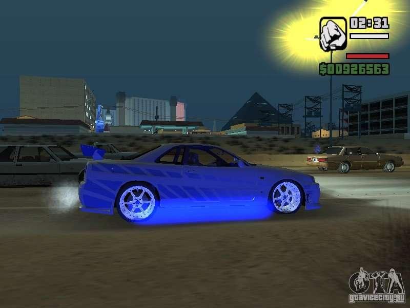Nissan Skyline Gtr34 Fnf2 For Gta San Andreas