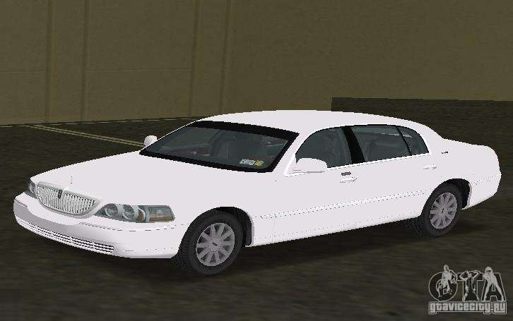 Lincoln Town Car For Gta Vice City