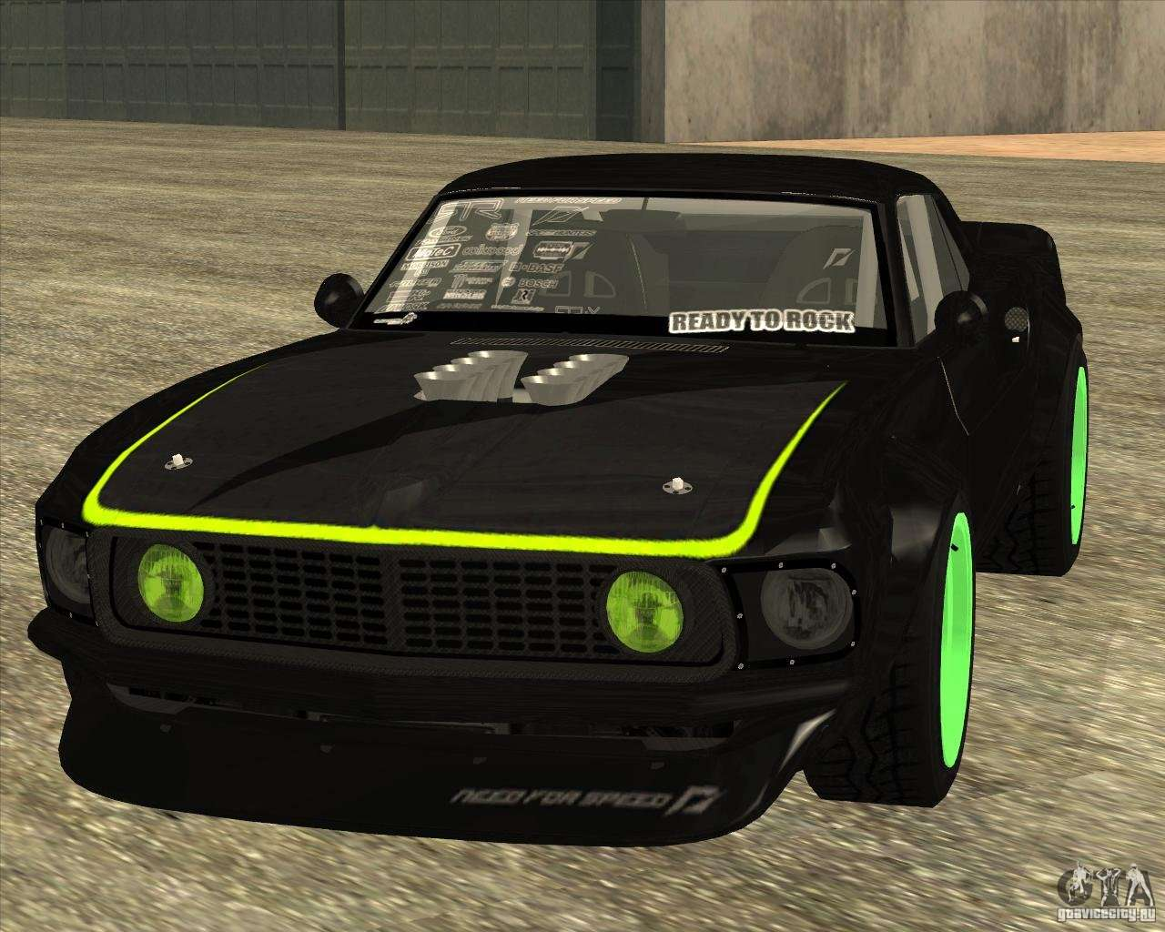 ford mustang rtr x 1969 for gta san andreas. Black Bedroom Furniture Sets. Home Design Ideas