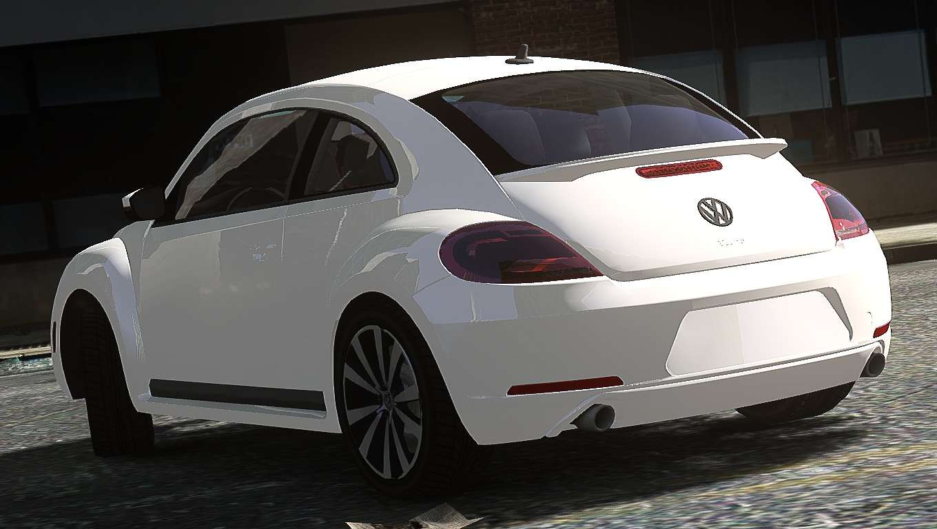 volkswagen beetle turbo 2012 for gta 4. Black Bedroom Furniture Sets. Home Design Ideas