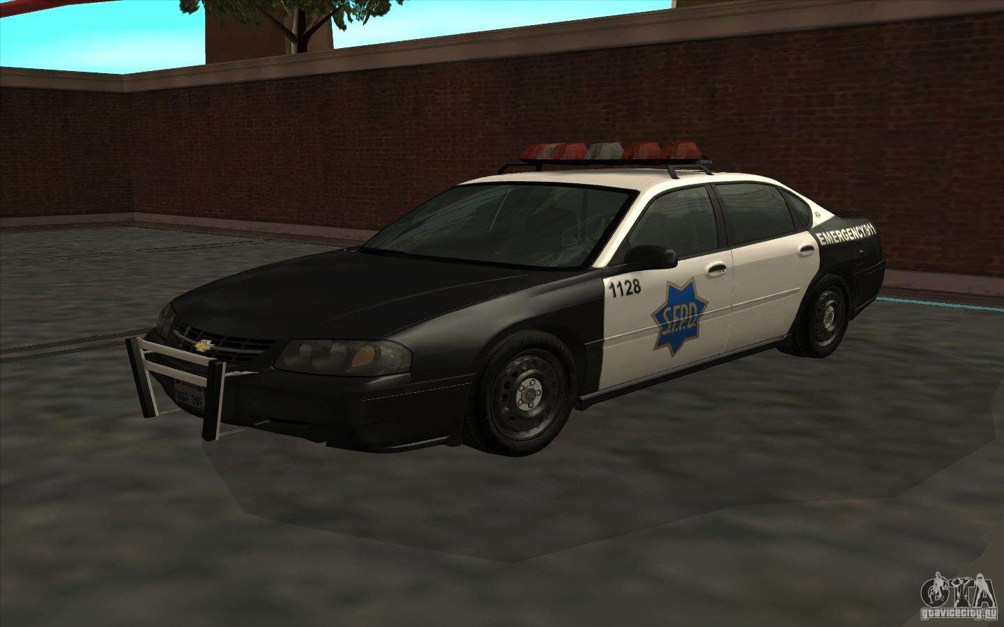 chevrolet impala 2003 sfpd for gta san andreas. Black Bedroom Furniture Sets. Home Design Ideas
