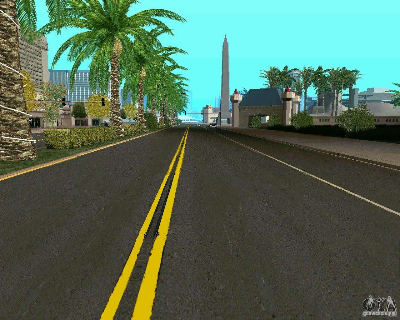 GTA 4 Road Las Venturas for GTA San Andreas
