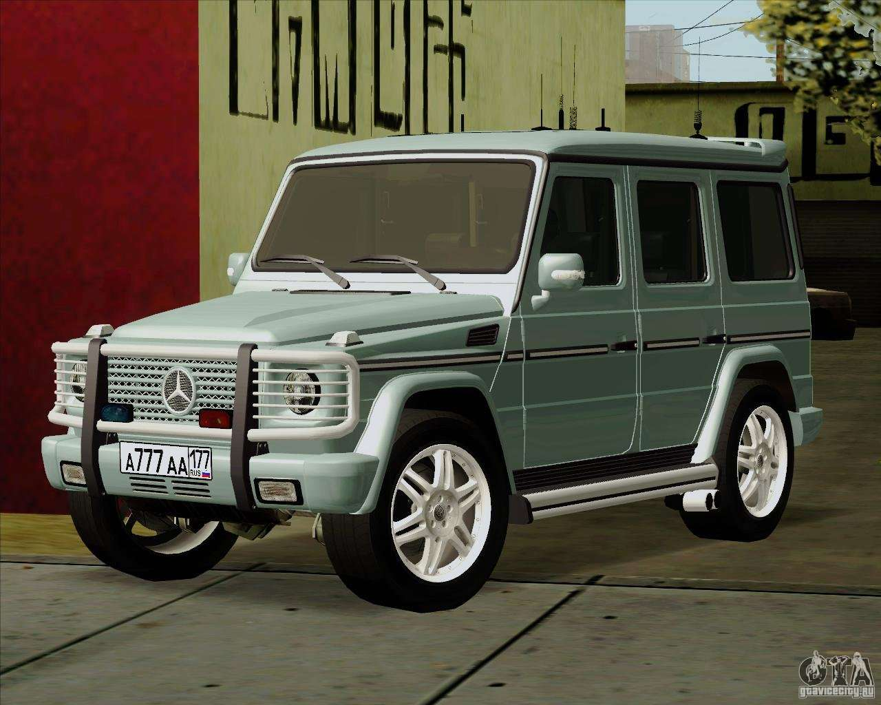 mercedes benz g500 1999 for gta san andreas. Black Bedroom Furniture Sets. Home Design Ideas