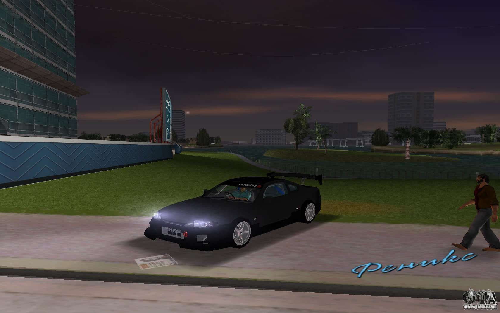 Nissan Silvia Spec R Tuned For GTA Vice City Right View